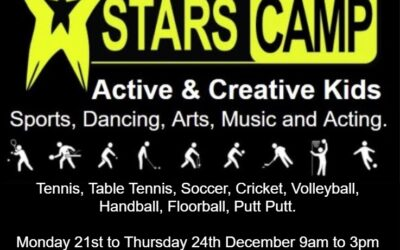 AJH Sports Kids Camps 21-24 Dec